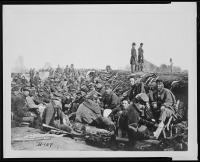 Brady-Civil-War-Photograph-In-the-trenches-before-Petersburg,-VA.,-1865image-t