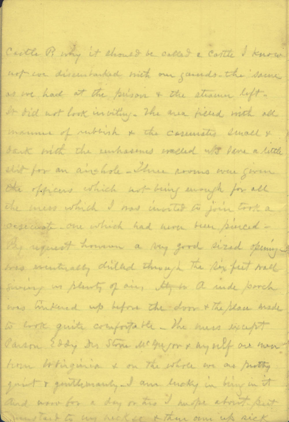 Civil War Union Soldiers Letters Diaries And Journals