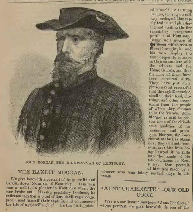 Harper's-Weekly-Civil-War-Bandit-John-Morgan
