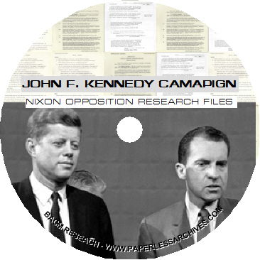 An analysis of the 1960 presidential campaigns between john f kennedy and richard nixon