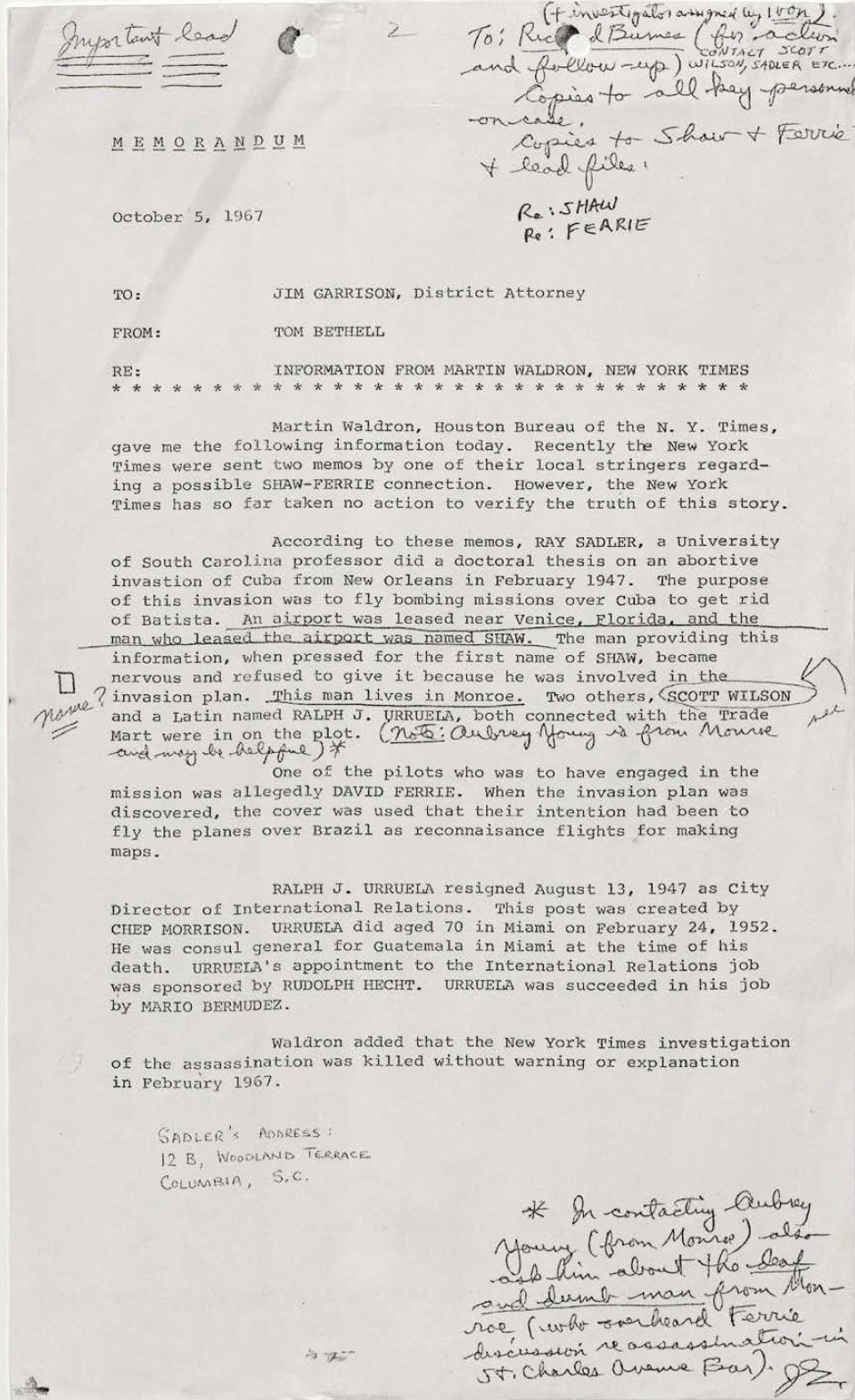 essays on jfk assassination conspiracy The assassination of john f kennedy was an immense contributing factor to several aspects of american life it can be said that his assassination impacted america forever discuss the impact it had culturally, socially, and politically, on the country as a whole, as well as advantages and disadvantages of these effects.