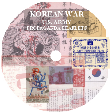 Korean War United States Propaganda Leaflets CD-ROM