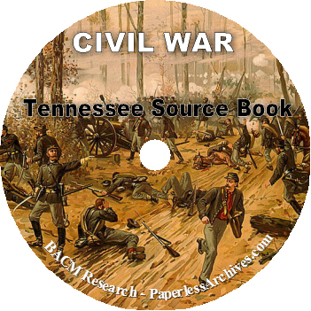 Tennessee Civil War Source Book CD-ROM