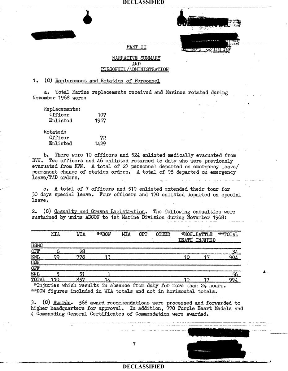 Vietnam-War-1st-Marine-Division-Command-Chronology-1968-11-Page-11