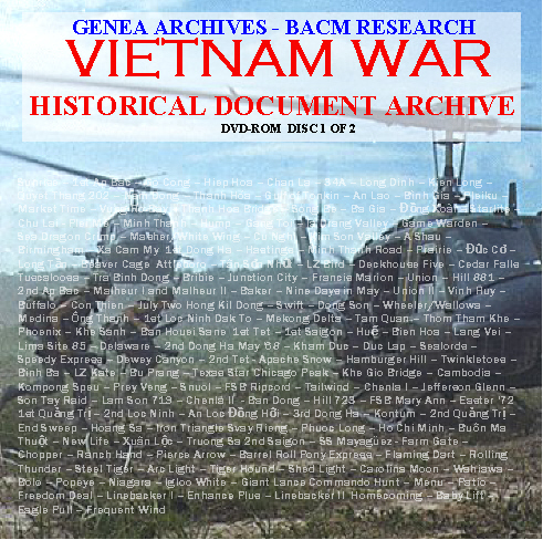 Vietnam War DISC 1 COVER FRONT