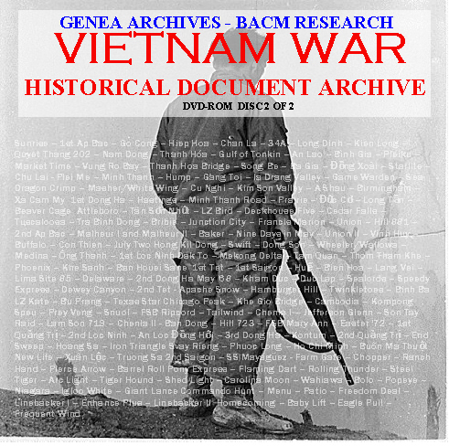 Vietnam War DISC 2 COVER FRONT