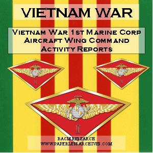 Vietnam War Marine Corps 1st Division Command Chronologies SQUARE 300