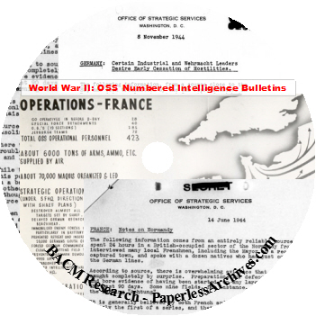 WWII-OSS-Numbered-Intelligence-Bulletins-CD-ROM