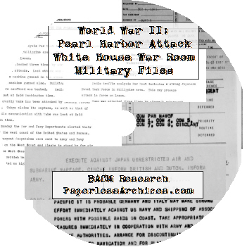 WWII-Pearl-Harbor-Attack-White-House-War-Room-Military-Files-CD-ROM