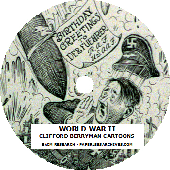 WWII Berryman Cartoons Disc