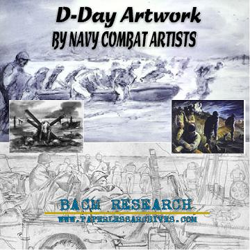 WWII D-Day Artwork  SQUARE resize