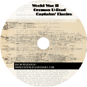 WWII German U-Boat Caputred Documents