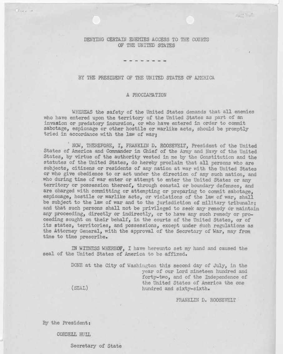 World-War-II-German-Saboteurs-Documents1