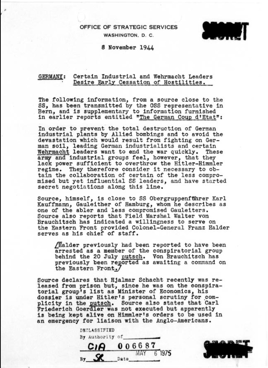 World-War-II-OSS-Numbered-Bulletin-November-06-1944