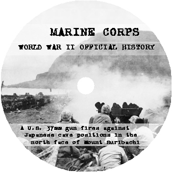 World War II Marine Corps Official History Publications CD-ROM