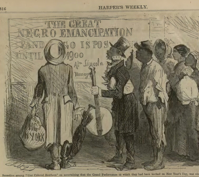 Harper's-Weekly-Emanicipation Proclaimation